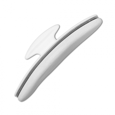 White Leather Nail Buffer