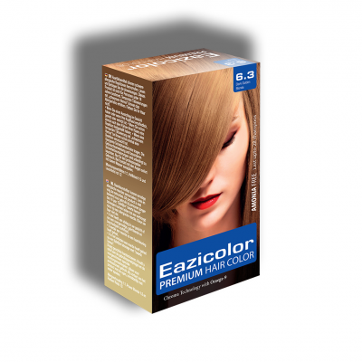 Eazicolor Permanent Hair Dye - Blonde 6.3