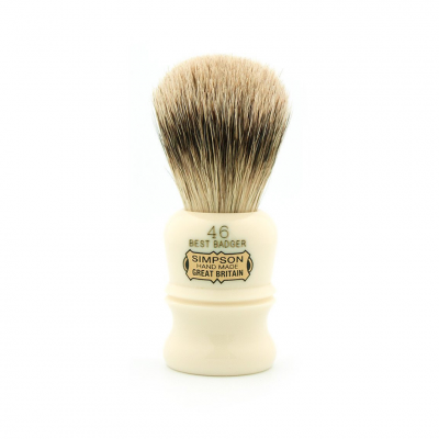 "Simpsons ""The Berkeley"" Best Badger Shaving Brush 46B"