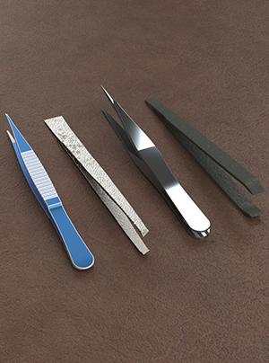 Choosing the right tweezer tip